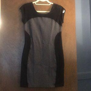 Athleta Grey/Black Dress, Size PS.